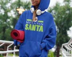 The Melanin Santa Hoodie Exclusive