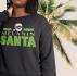The Melanin Santa Fleece Crew Sweat Shirt
